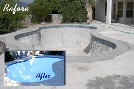 Swimming Pool Fiberglass Resurfacing Repair New Installation